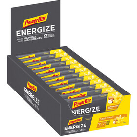 PowerBar Energize Made with Natural Ingredients Bar Box 25x55g Original Vanilla Almond